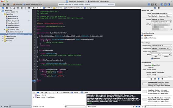 Xcode_gamen