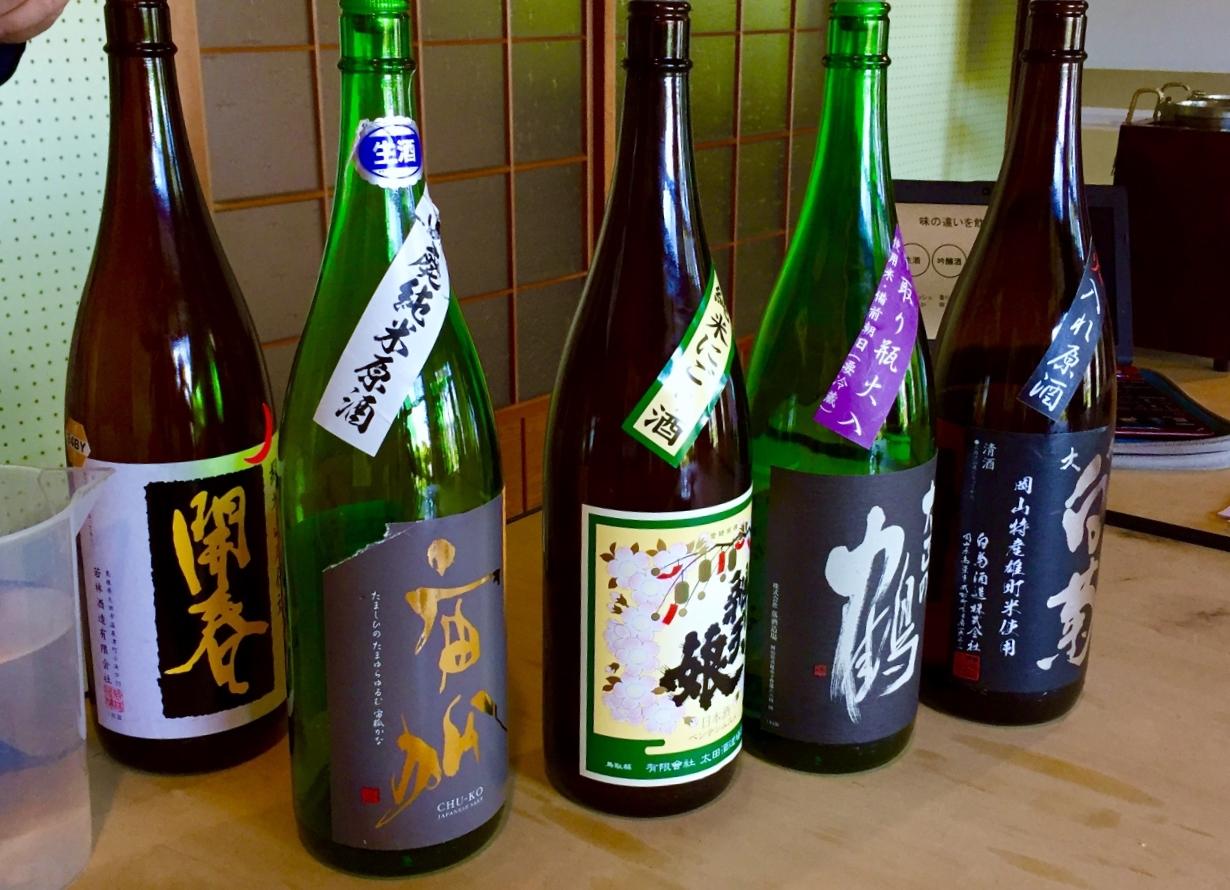 日本酒から広がる好奇心