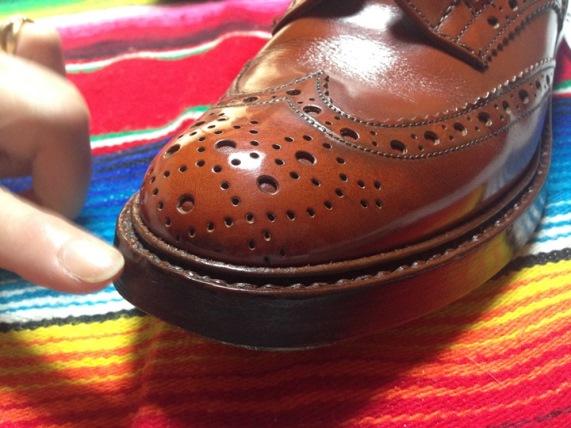 """靴を""""育てる""""という目からウロコの感覚"""