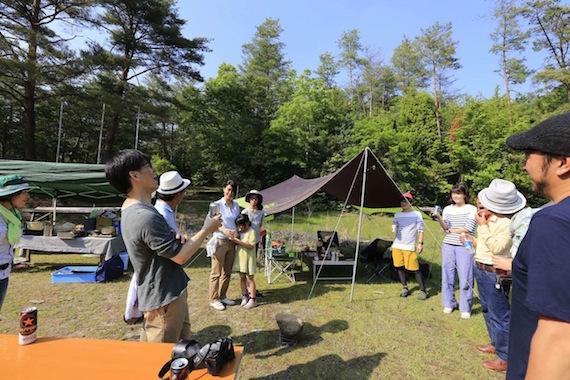 みんなで形にするキャンプ